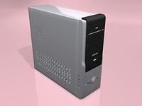 case ca 3d model