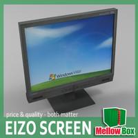 3d eizo lcd screen model