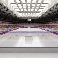 3d ice hockey hall