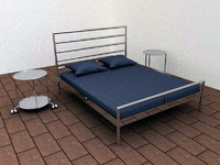 HEIMDAHL bed by IKEA.c4d