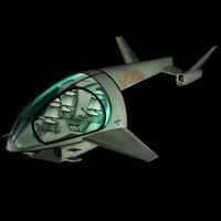 3d futuristic hover pzhov copt