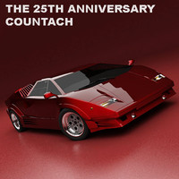The 25th Anniversary Countach