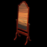 antique mirror poser pzmirror 3d pz3