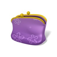 3ds max cartoon style handbag