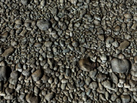 riverbed pebbles max