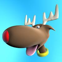 cinema4d rudolph reindeer