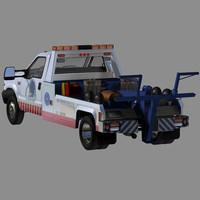 poser commercial tow truck zero