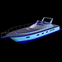 boat 52 yacht pzyacht052 3d pz3