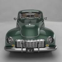 3d classic car model