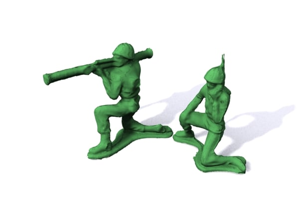 3d original army men series model - Original Army Men Series A... by Fat Crayon