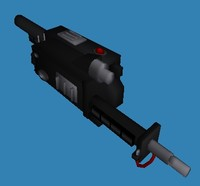 Ghostbusters Proton Gun 3DS,OBJ, and MS3D