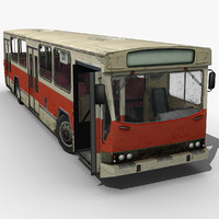Old European City Bus *LowPoly*