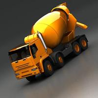 maya cement mixer 8x4