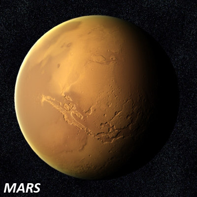 mars solar system model - photo #46