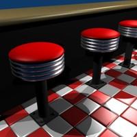 maya bar stool diners