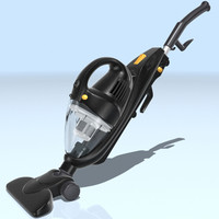 3d mini vacuum cleaner model