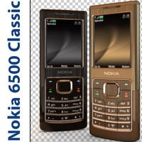 3d nokia 6500 classic