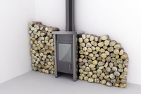 maya wood burning pellet stove