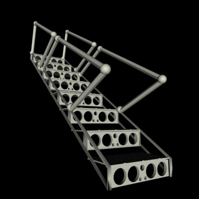 3ds max steps aircraft - Steps.zip... by zarday321