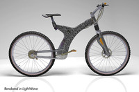 mountain bike lightwave 3d model
