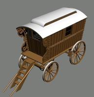 gypsy caravan 3d 3ds