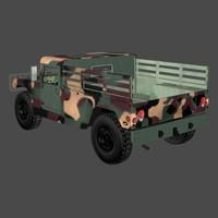 military trk u s 3d pz3