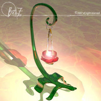 3ds max lizard candle