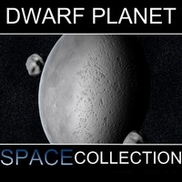 dwarf planet el61 3d model