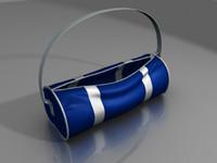 sports bag 3d model