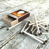 3d matchbox matches