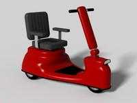 3d scooter chair wheelchair