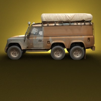 road truck 3d model - Off Road Truck... by be fast