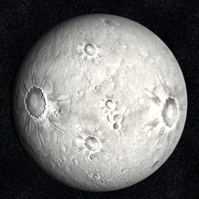 Quaoar Planetoid Beyond Pluto  Spacecom