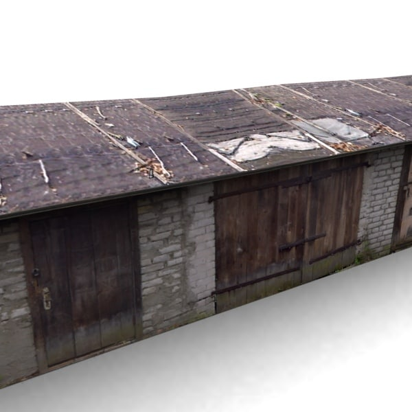 3d model building garage for 3d garage builder