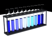 3d 3ds test tubes