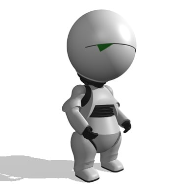marvin character movie c4d - Marvin... by Hilkester