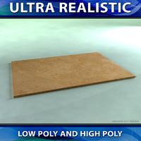 realistic tile 3d model
