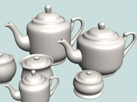 01 Tea Pot Set 01