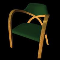 modern bentwood chair pzchair 3d pz3