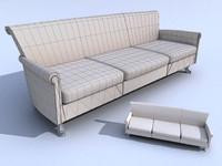 3d selva sofa model