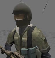 blender soldier