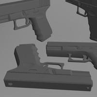 obj glock pistol
