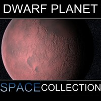 3d model dwarf planet huya