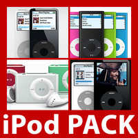 iPod Pack (5 models)