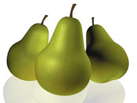 cinema4d fruit pear