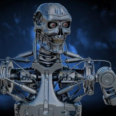 Terminator Robot Types Terminator Robot 3d Max