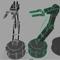 obj robot arm