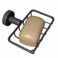 3d model soap holder