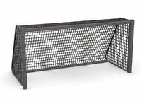 3d model soccer goal