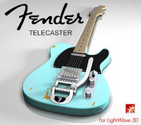 Telecaster - Electric Guitar for LightWave 3D